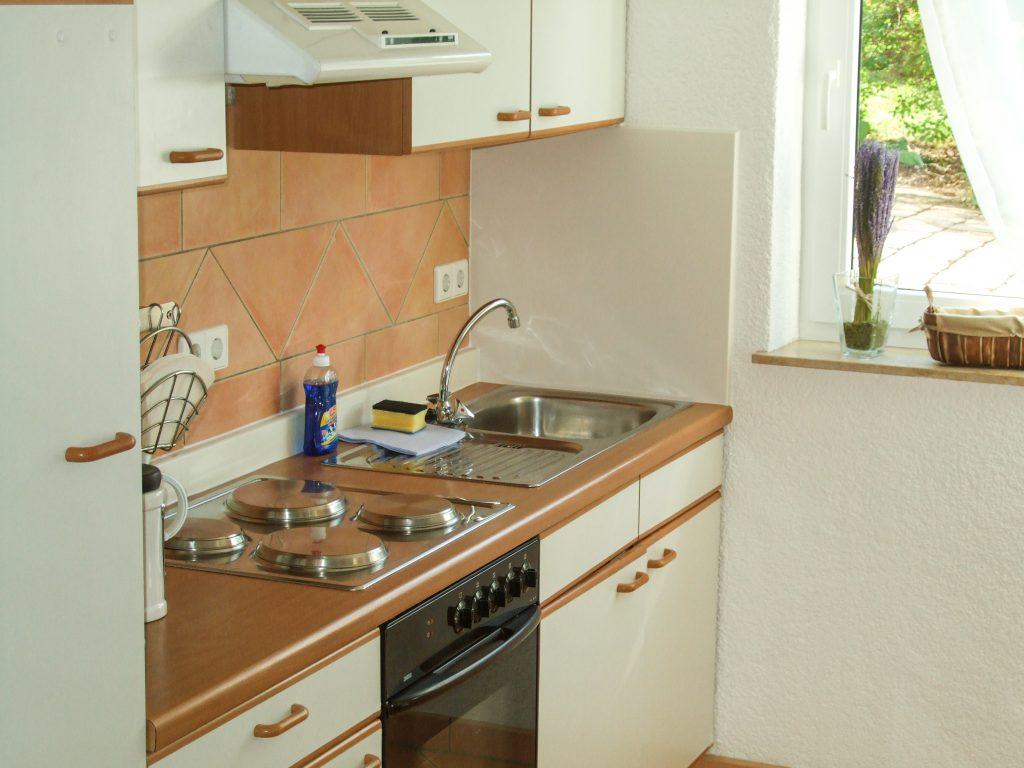 Küche Ferienwohnung Im Holzhaus Donaueschingen